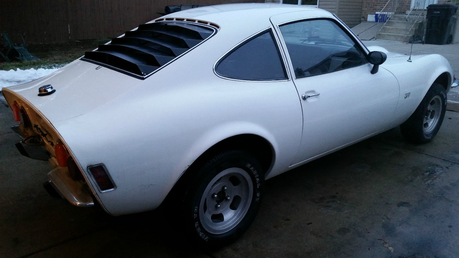 1970 opel gt 4 speed for sale in new lebanon ohio. Black Bedroom Furniture Sets. Home Design Ideas