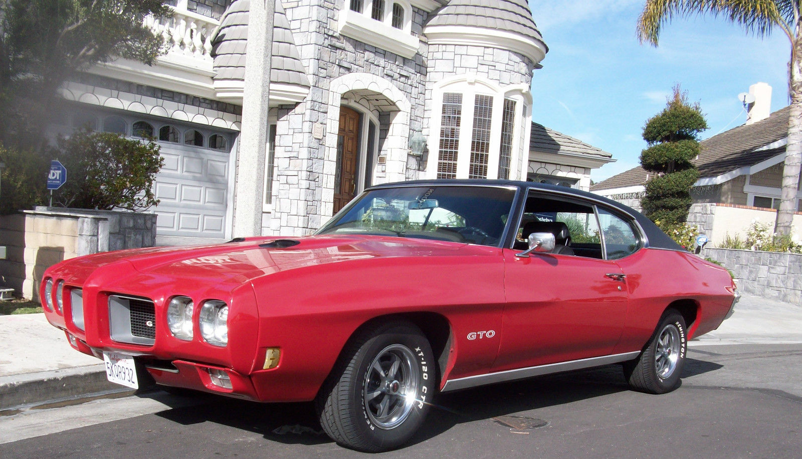 1970 pontiac gto for sale in huntington beach california. Black Bedroom Furniture Sets. Home Design Ideas