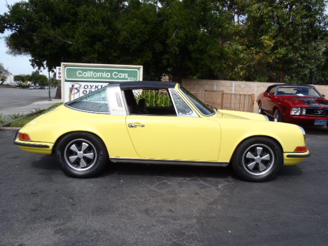1970 Porsche 911e Small Bumper Car Classic911 Air Cooled Porsche Club 911