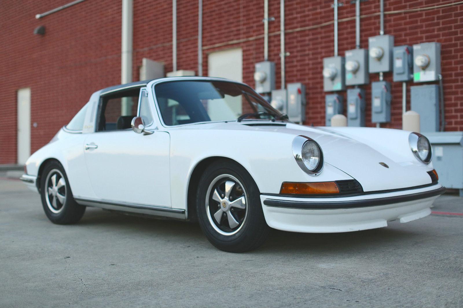 1970 Porsche 911e Targa For Sale In Pearland Texas