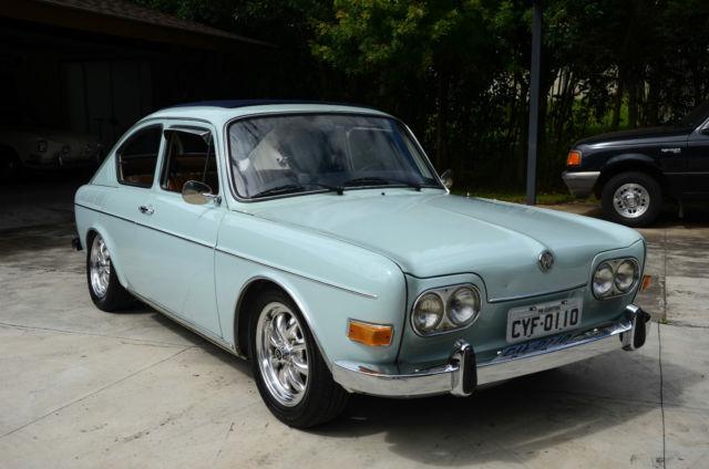 1970 Volkswagen Type Iii Fastback Brazilian 1600tl Fasty