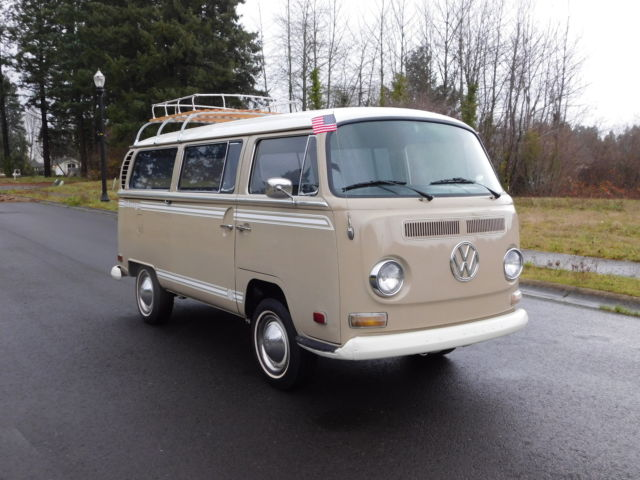 1970 volkswagon 7 passenger family van one very nice well taken care of vw for sale in vancouver. Black Bedroom Furniture Sets. Home Design Ideas