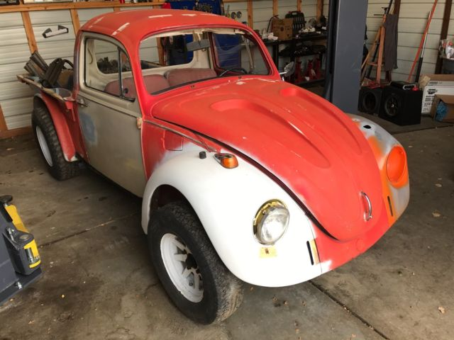 1970 vw beetle truck full of classic parts all original german classic complete. Black Bedroom Furniture Sets. Home Design Ideas