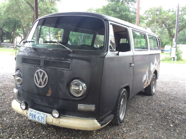 1970 VW Bus Slammed Runs Drives Rat Rod Lowrider leadsled ...