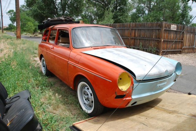 1970 Vw Type 3 Squareback Project With  5000 In Parts For