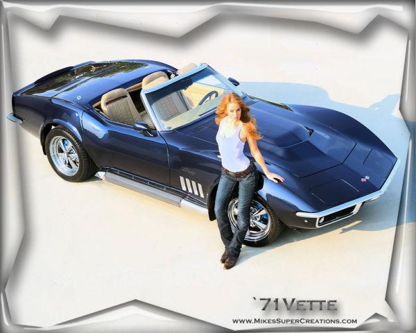 C3 Corvette Custom Interior >> 1971 (69) Frame Off Resto-Mod C3 Corvette Roadster ...