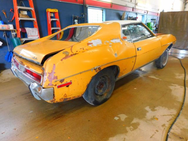 Auto Bill Of Sale As Is No Warranty: 1971 AMC Javelin T1265587 *PARTS ONLY/NO TITLE