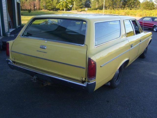 1971 amc matador station wagon  original paint  390 engine