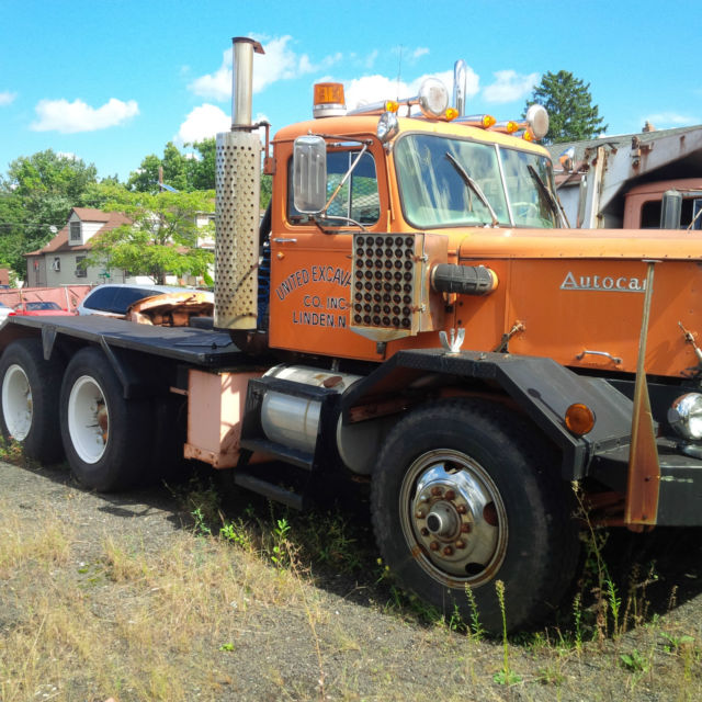 1971 Autocar Tractor For Sale In Linden, New Jersey