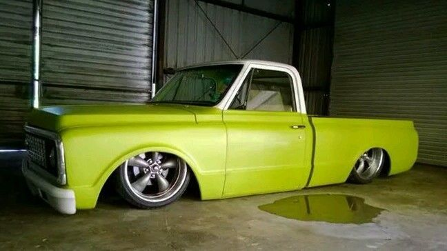 1971 Bagged C10 Ratrod Chevy Airride For Sale In