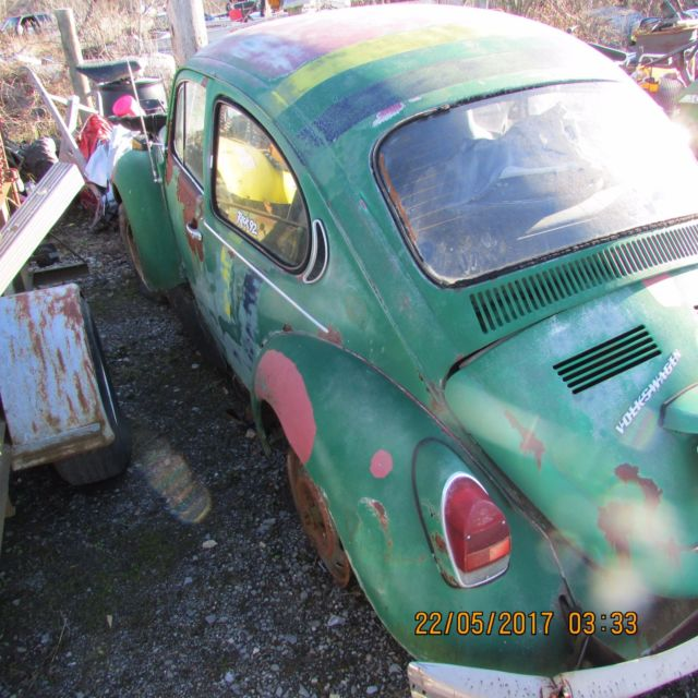 Classic Vw Beetle Engine Upgrades: 1971 Beetle ( Super Bug ? ) Vw Volkswagen With Title