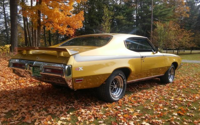 1971 Buick Gsx Stage 1 4 Speed For Sale Photos Technical
