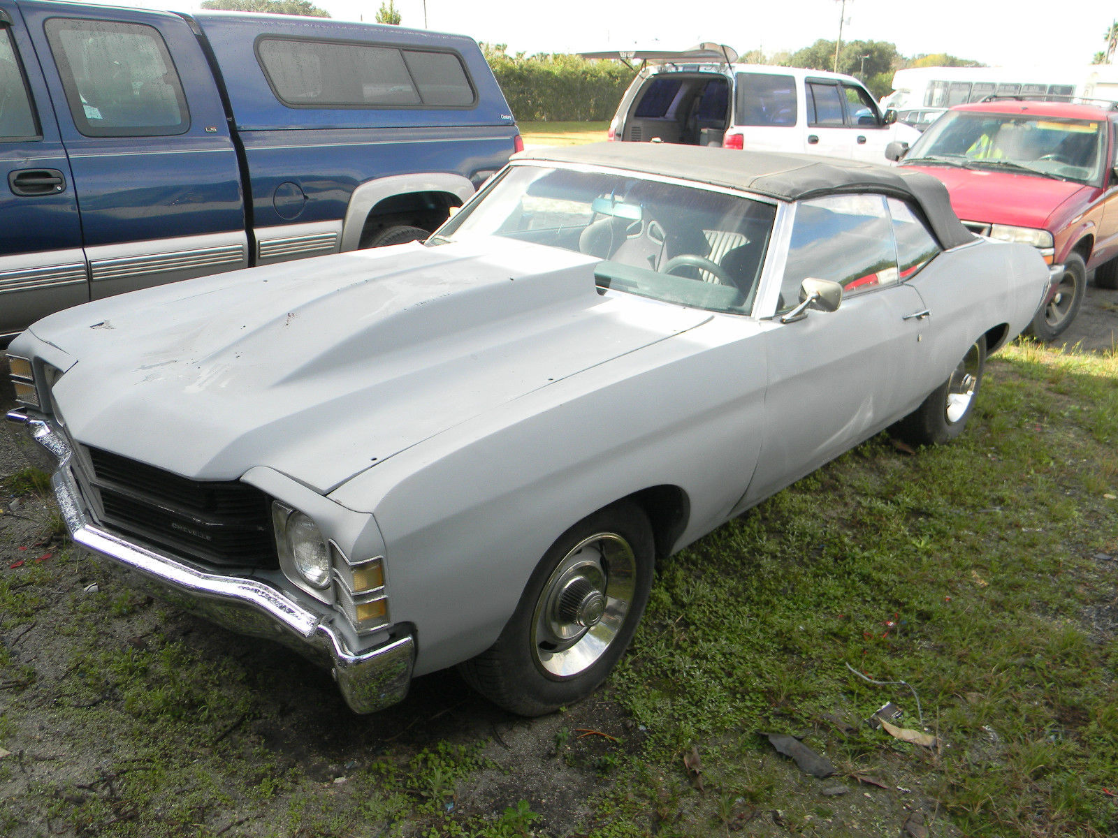 1971 chevelle convertible 383 engine project car