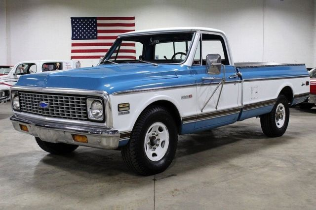 181720 1978 Chevy Truck Stepside 4x4 Monster besides 369998 1971 Chevrolet C20 Longhorn 40458 Miles Blue   White Pickup Truck 350ci V8 Autom moreover 248146 1972 G10 Chevy Van 4x4 G20 G30shorty additionally 6885 1968 Chevy Blue Stepside K20 4x4 Truck Short Bed Frame Off Ac New 350 Lifted 35 likewise 1966 Chevy Truck Restoration. on 1972 gmc 4x4 interior