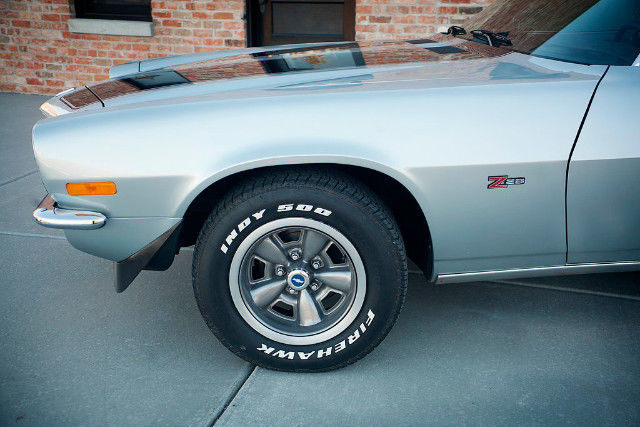 1971 chevrolet camaro z28 26665 miles silver two door coupe 350 ho automatic