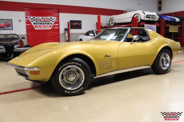 1971 Chevrolet Corvette Lt1 Coupe 90679 Miles War Bonnet