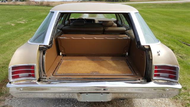 Used Hearse For Sale >> 1971 Chevrolet Impala Kingswood Station Wagon Original ...