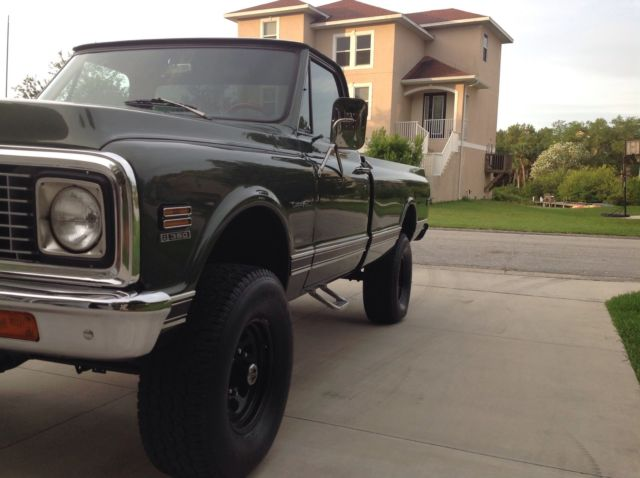 1971 Chevy 4x4 K20 Custom Loaded Beautiful Ground Up