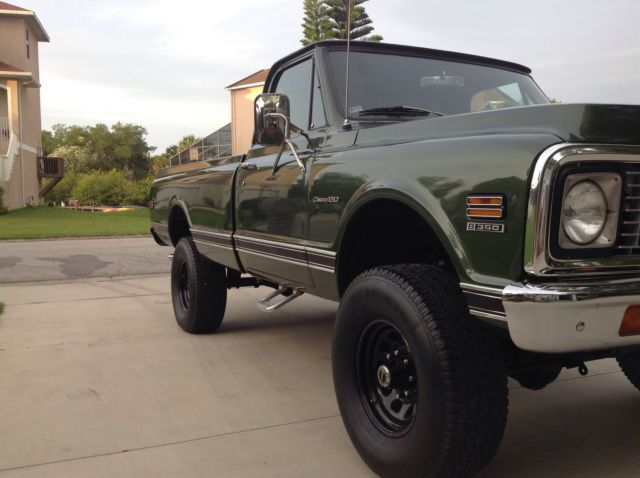 1971 Chevy 4x4 K20 Custom LOADED BEAUTIFUL GROUND UP ...