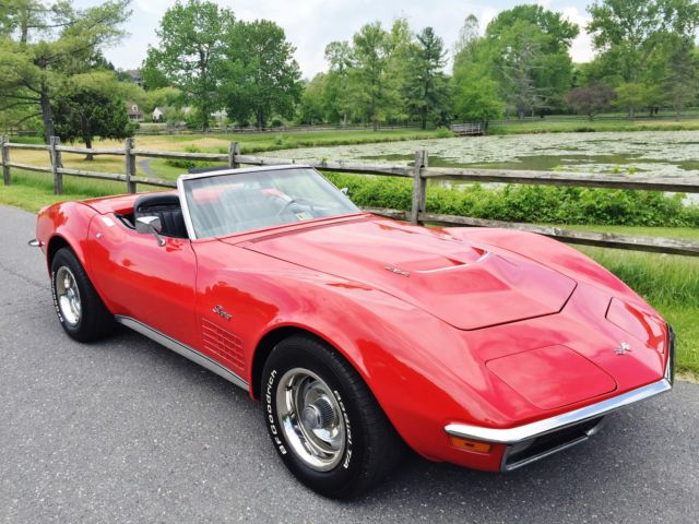 1971 Chevy Corvette Stingray Convertible 4 Sd For In Harrisonburg Virginia United States Photos Technical Specifications Description