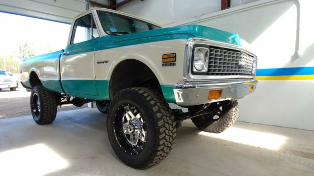 1971 chevy k10 4x4 must see frame of restoration