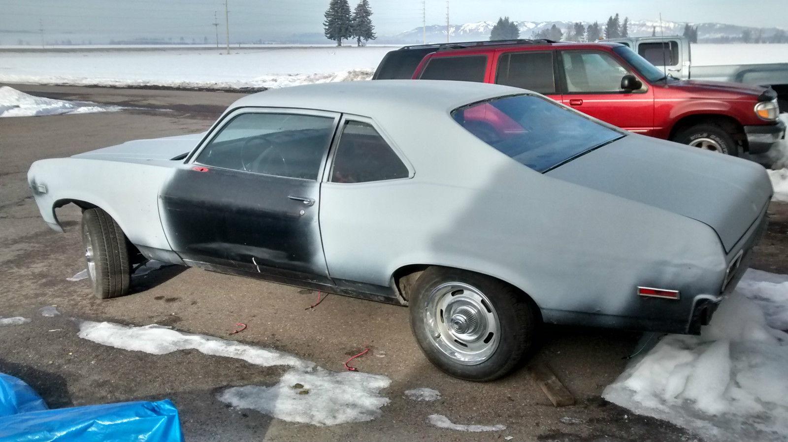 1971 Chevy Nova 2 Door Project Good Body Needs Work