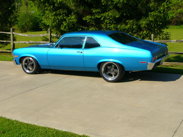 1971 Chevy Nova Big Block 4 Speed Dse Mini Tubbed Formula