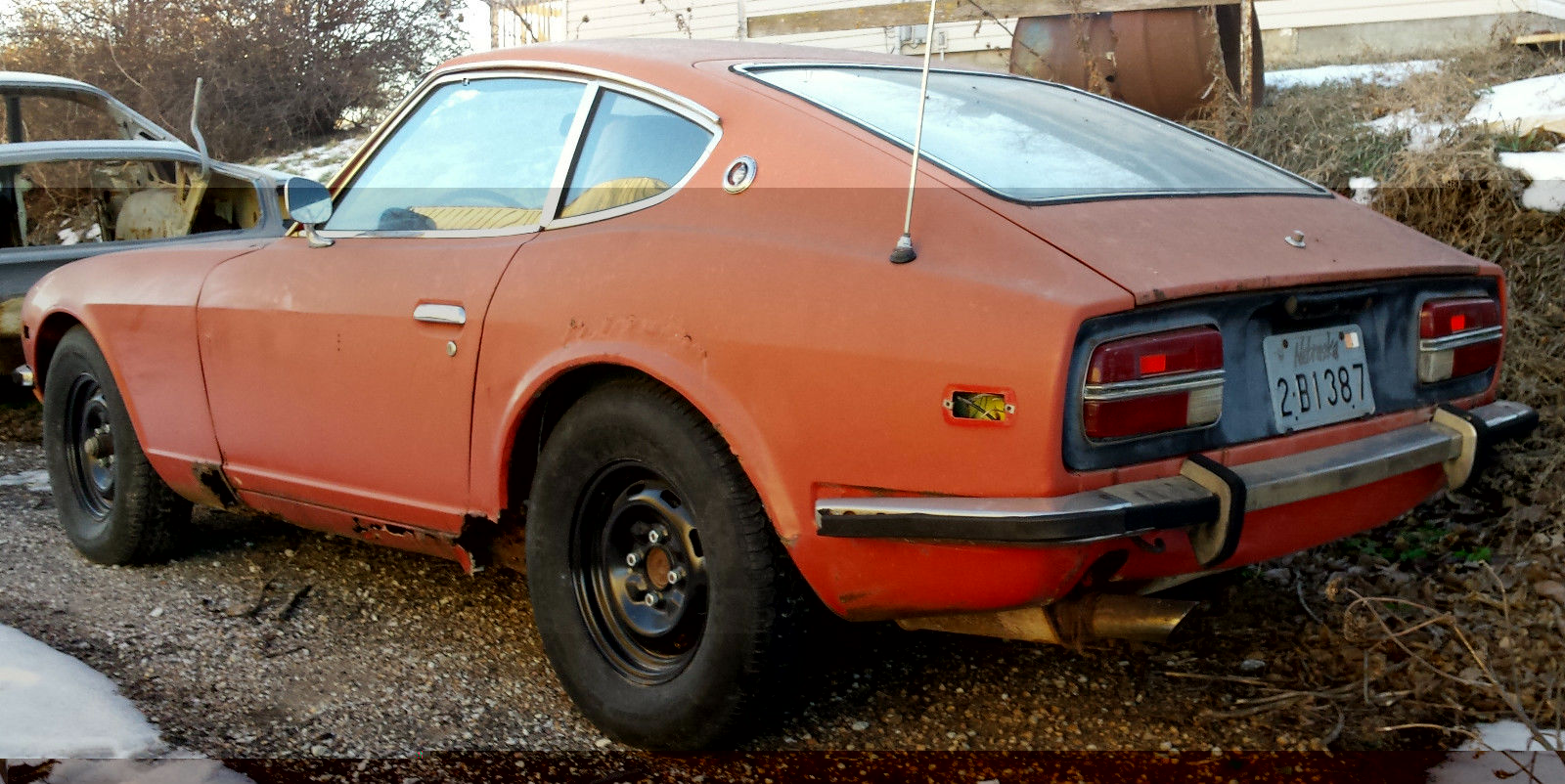 1971 datsun 240 z parts car with clear title for sale in lincoln nebraska united states. Black Bedroom Furniture Sets. Home Design Ideas