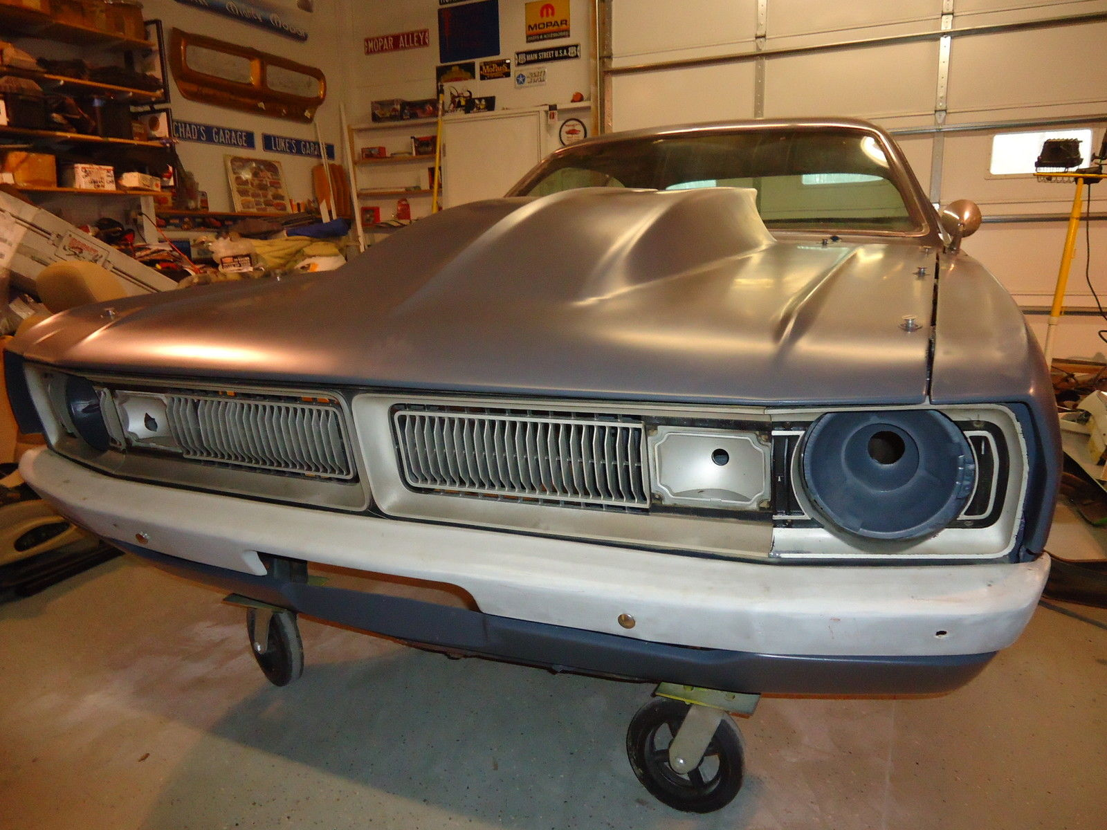 1971 DODGE DEMON DART NICE PROJECT CAR FOR WINTER, MAKE IT A SUPER STOCK HEMI for sale in ...