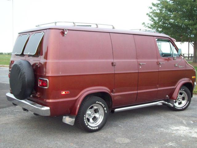 1971 Dodge Van Tradesman B200 Rust Free And Factory