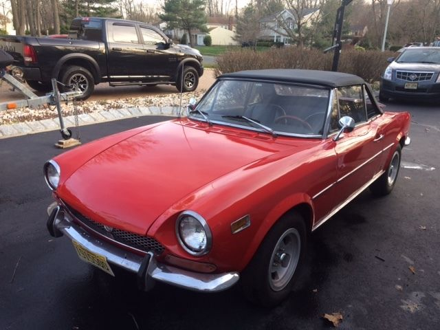 1971 Fiat 124 Spider Convertible 2 Door 1 4l