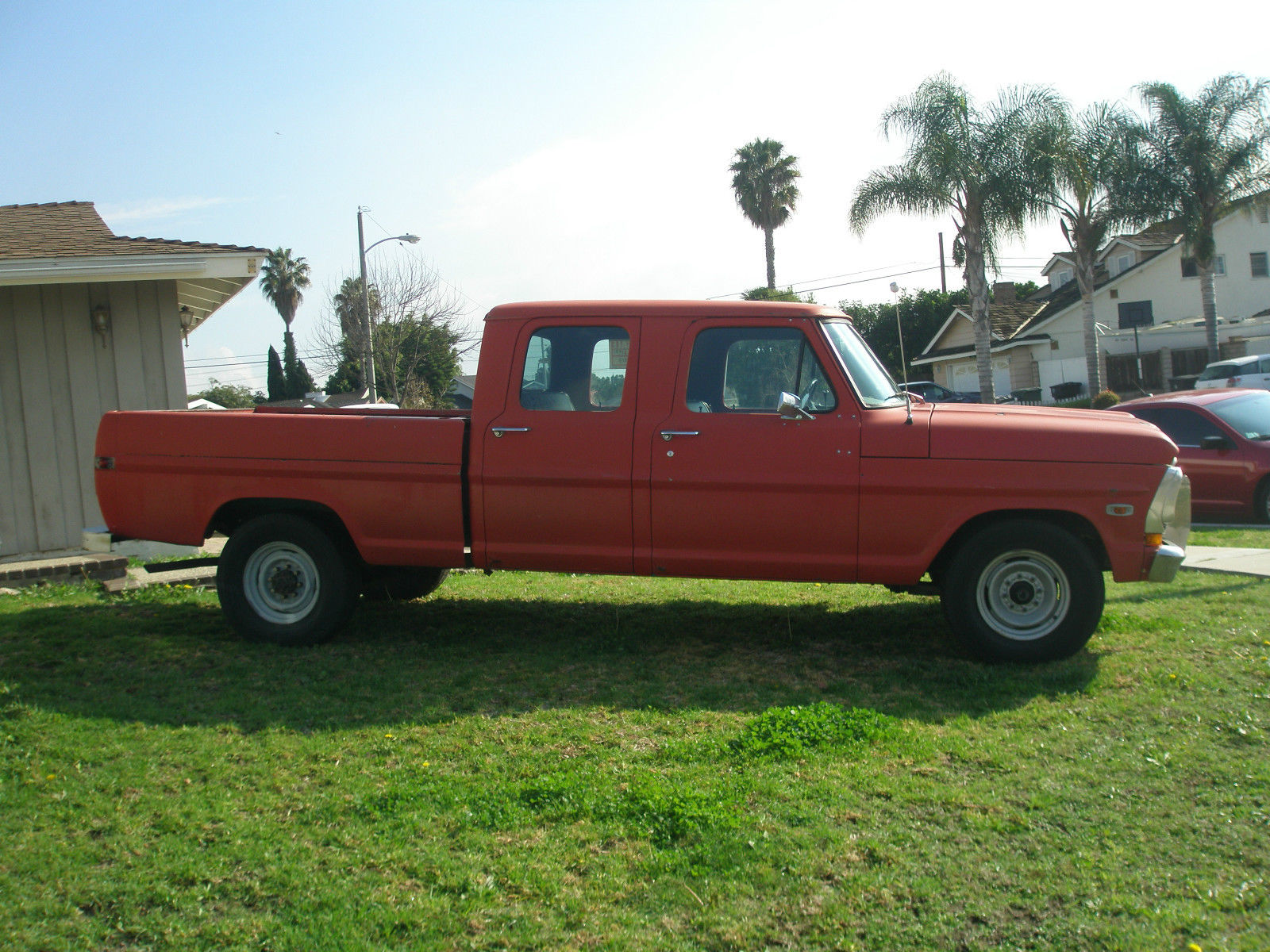 1971 Ford F 250 4 Door Crew Cab 390 F250 For Sale In