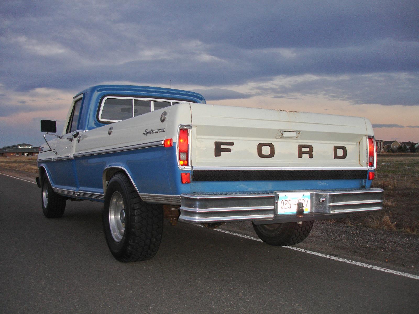 1971 Ford F-250 Sport Custom Vintage Truck for sale in Brighton ...