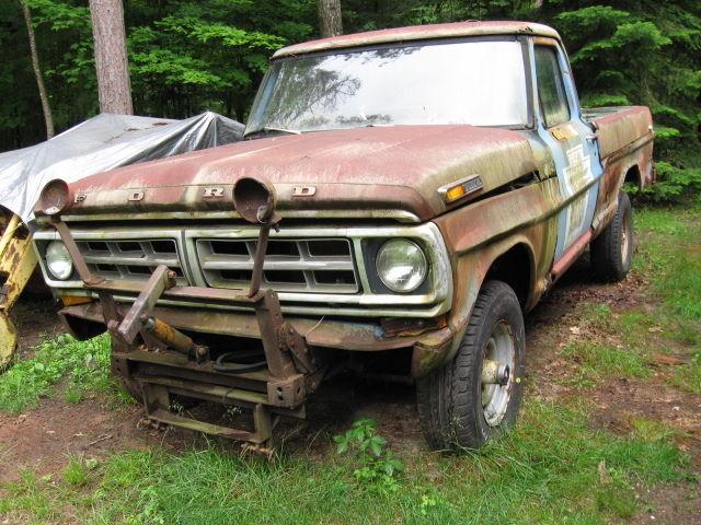 Bmw Pick Up 4x4 >> 1971 Ford F250 4X4 Pick up