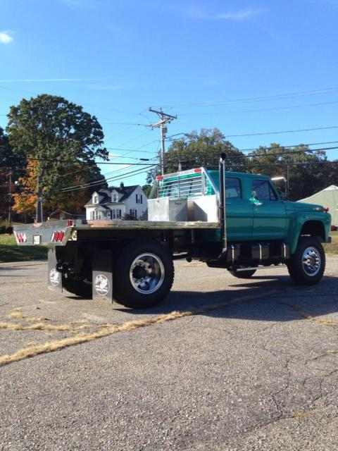 1971 Ford F750 4x4 4 Door Crew Cab For Sale Photos