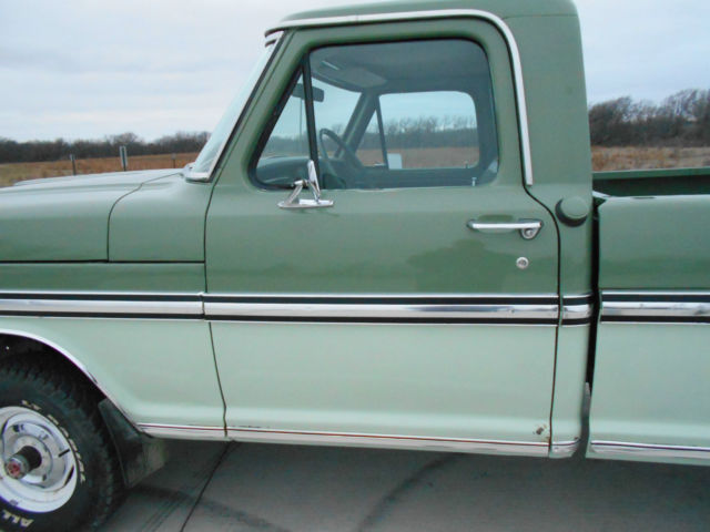 1971 ford ranger f 100 4x4 428 cobra jet engine 4 speed manual transmission for sale in newton. Black Bedroom Furniture Sets. Home Design Ideas