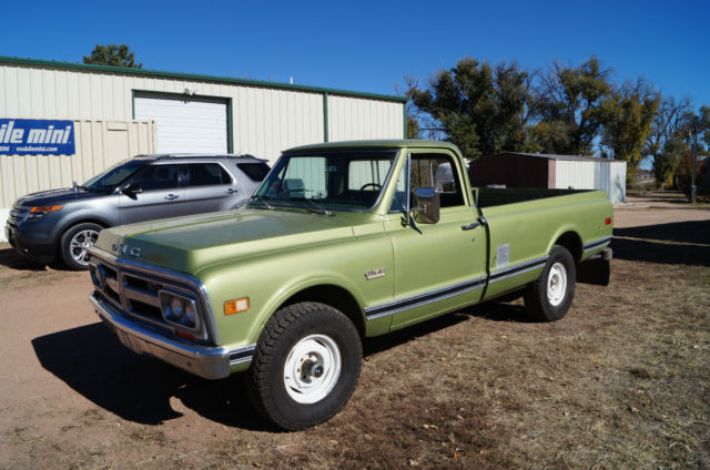 Used Tires Colorado Springs >> 1971 GMC K10 1/2 ton 4x4 350 Pickup truck Chevy AC ONE ...