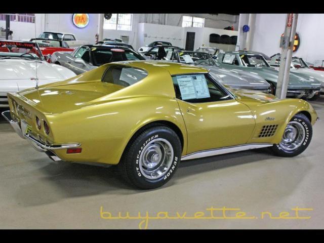 Gold Corvette Buyavette Inc Atlanta - Buyavette car show