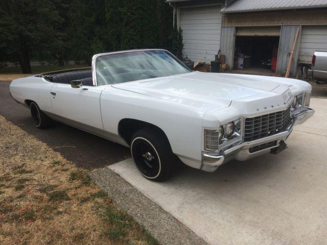 1971 impala convertible for sale in tacoma washington united states. Black Bedroom Furniture Sets. Home Design Ideas
