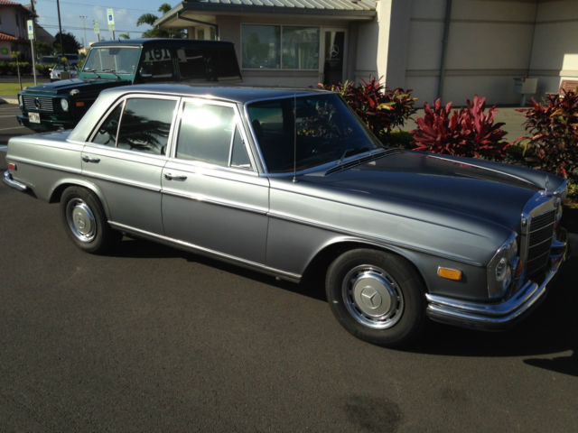 1971 mercedes benz 280s w108 very solid body for sale in for Mercedes benz marina del rey