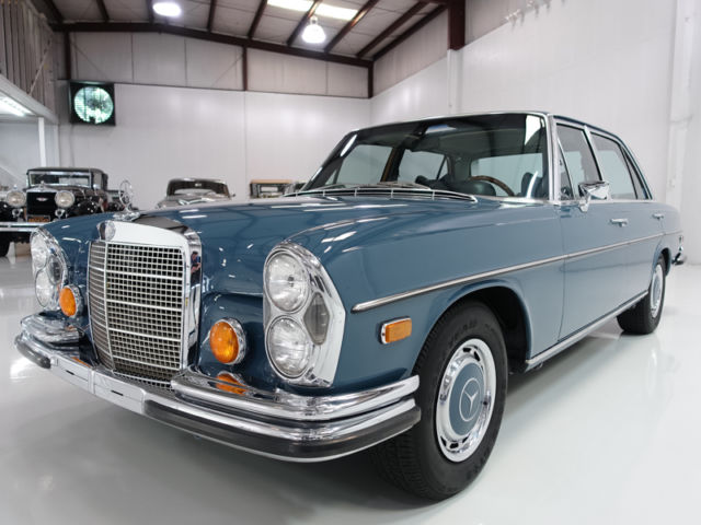 1971 mercedes benz 300sel 6 3 sedan numbers matching top for Mercedes benz top of the line