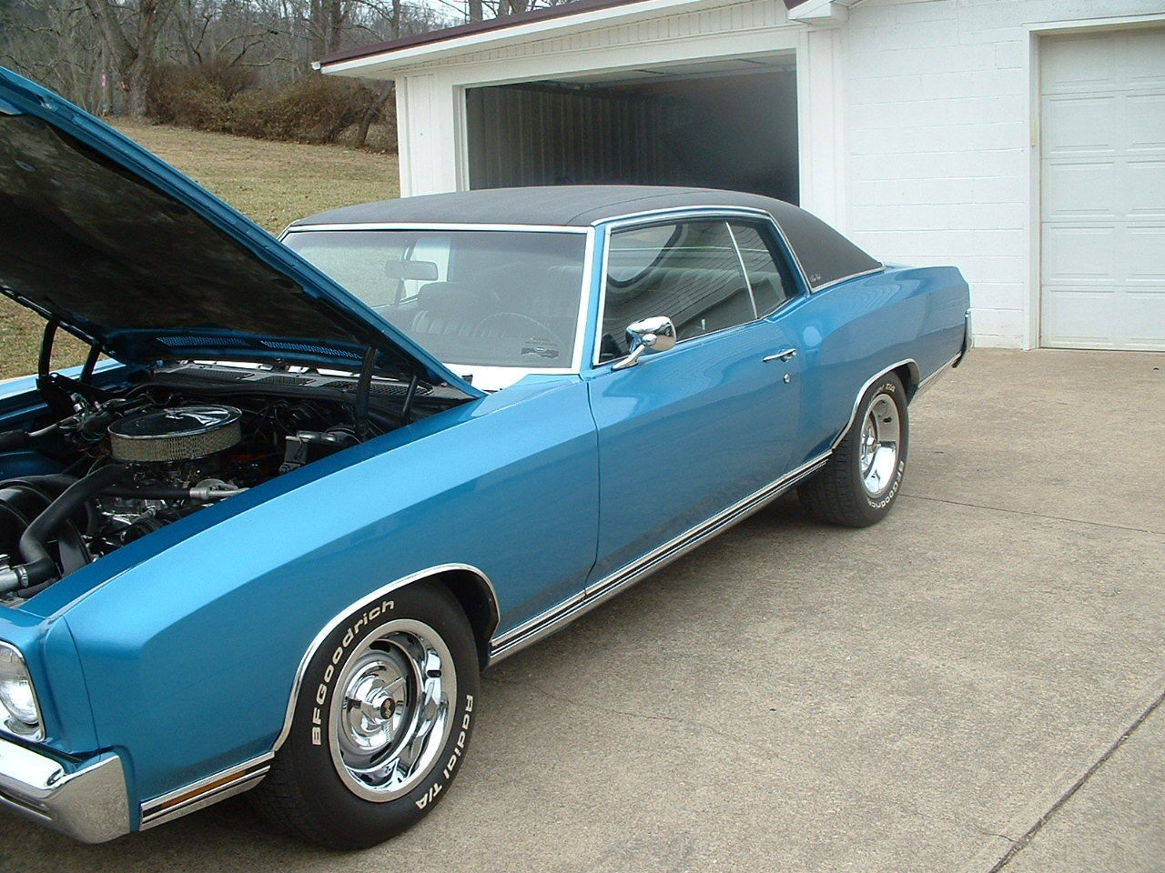 1971 monte carlo very nice 1970 monte 1972 monte chevy chevy 400 engine for sale in saint. Black Bedroom Furniture Sets. Home Design Ideas