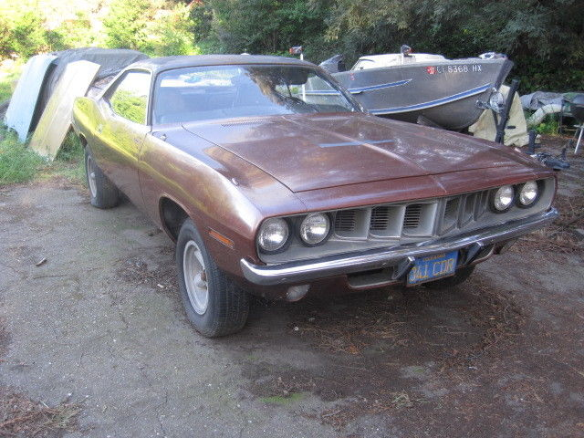 1971 Plymouth Barracuda Original Paint Cuda Dodge