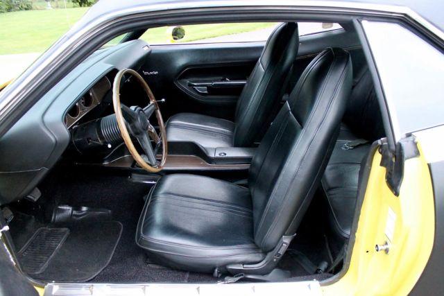 1971 plymouth hemi 39 cuda coupe tribute car lemon twist crate hemi 4 speed. Black Bedroom Furniture Sets. Home Design Ideas