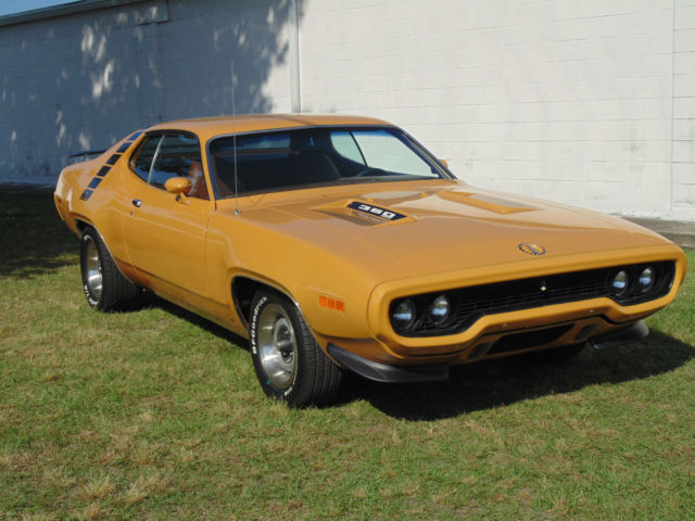 road runner 1971 muscle - photo #11