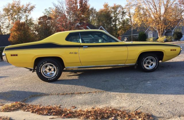 1971 Plymouth Satellite Sebring Plus