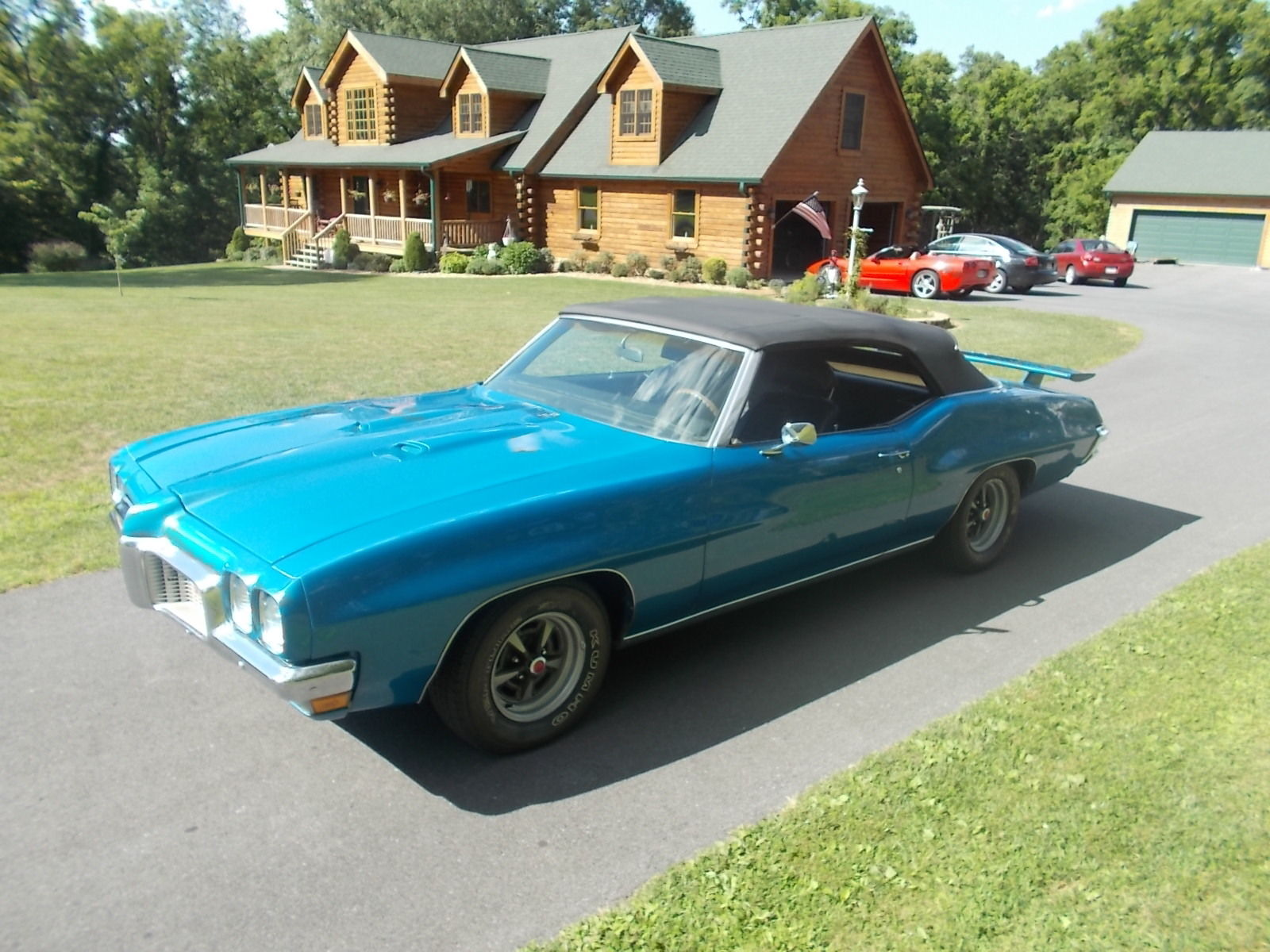 1971 pontiac lemans sport convertible gto tribute restored auto drives great for sale in. Black Bedroom Furniture Sets. Home Design Ideas