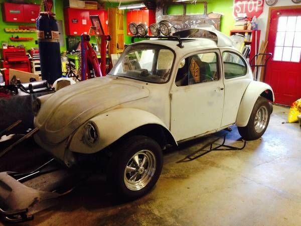 1971 Volkswagen Baja Bug Vw Beetle Superbeetle Project Car Hot Rat Rod For Sale In New Palestine