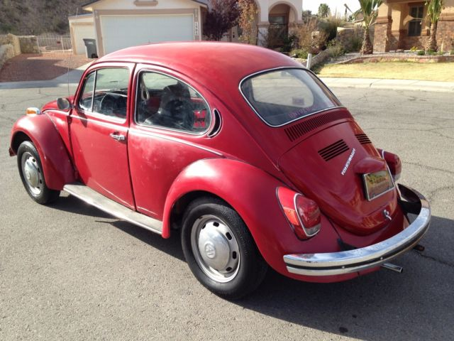 1971 volkswagen beetle classic no reserve for sale in el paso texas united states. Black Bedroom Furniture Sets. Home Design Ideas