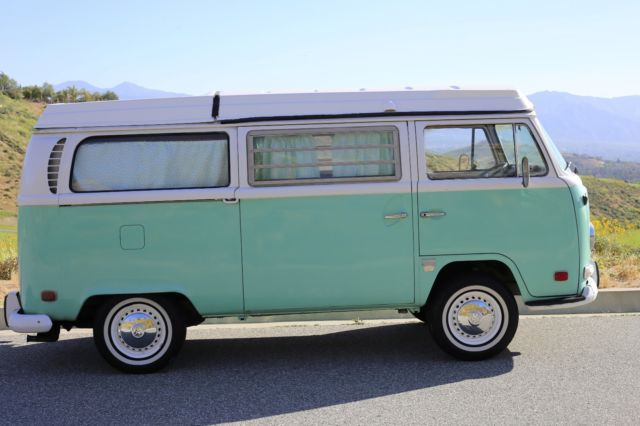 1971 volkswagen bus westfalia camper pop top california bus. Black Bedroom Furniture Sets. Home Design Ideas